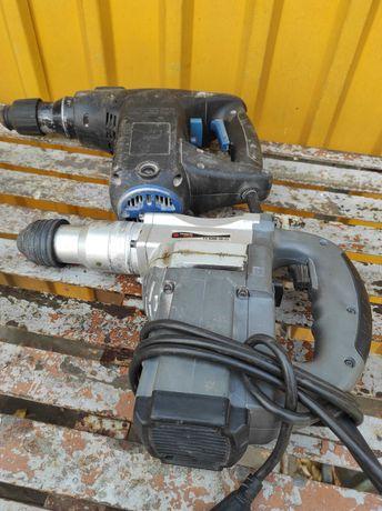 Перфоратор Ferm, Powertec под ремонт или на запчасти