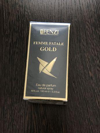 Парфуми J. Fenzi 100ml Femme fatale gold