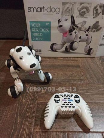Интерактивная собака робот на радиоуправлении, Смарт питомец собачка