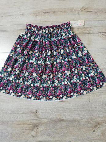 Włoska plisowana spódnica na gumce, rozmiar uni
