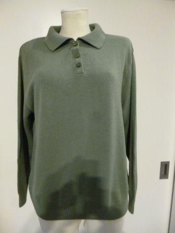 Piękny kolor, bluzka XXL - 30% wełna, 70% akryl, długi rękaw