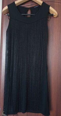 Короткое  чёрное Платье.