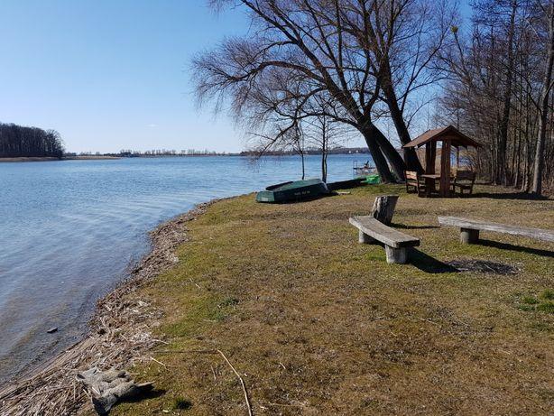 Mazury/ogrodzona/uzbrojona/Makosieje/400m plaża/150m jezioro