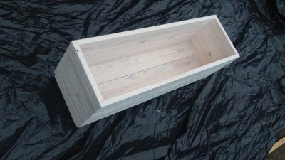 Donica drewniana 100x30x30 wysylka gratis