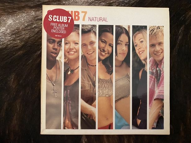 CD Single S Club 7 com Poster
