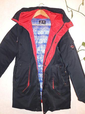 Зимова куртка на підлітка