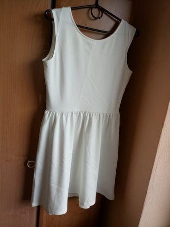 Sukienka kremowa CROPP