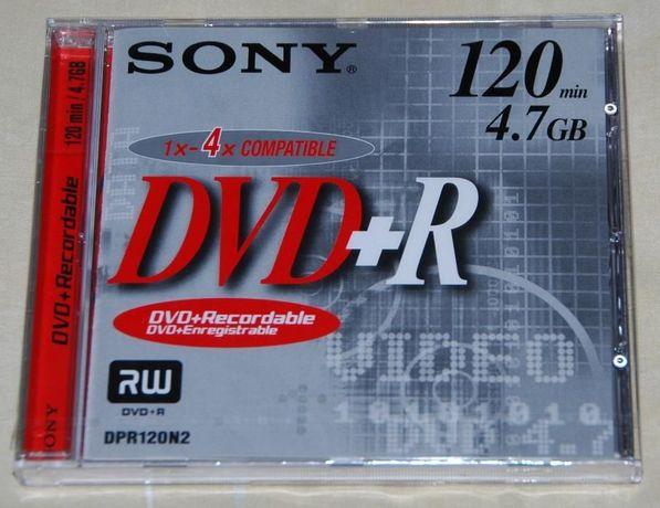 DVD+R da Sony (novo)