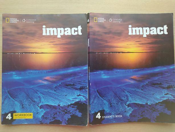 Учебник и тетрадь английского языка Impact 4