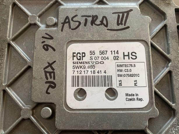 Sterownik Astra III zestaw 5WK9460 Z16XER