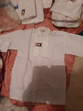 Продам новое школа Блузки белые 9,10,11 лет сарафан 7 лет  юбки школа