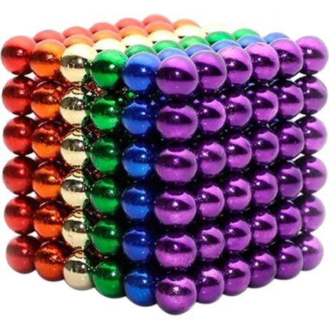 Головоломка магнитные шарики из 216 магнитных шариков куб Антистресс