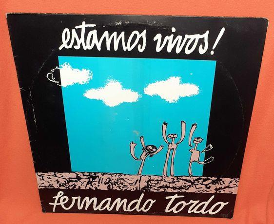 Disco Vinil-Estamos Vivos-Fernando Tordo