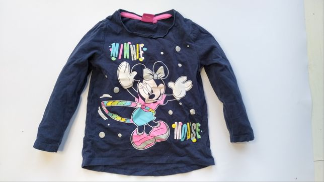 Disney bajkowa bluzka Myszka Minnie Mouse 98cm/104cm