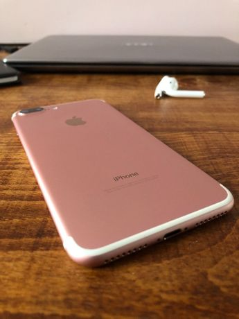 Айфон 7 + ( Iphone 7 plus ) Never Lock 128 Gb Rose Gold
