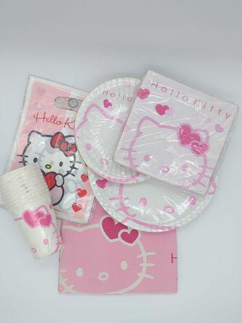 """Conjunto de Aniversário """"Hello Kitty"""""""