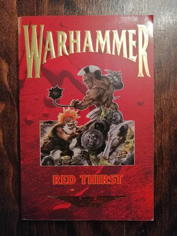 WARHAMMER Red Thirst Książka po angielsku