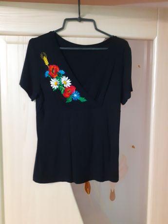 Сорочки з коротким рукавом вишиті
