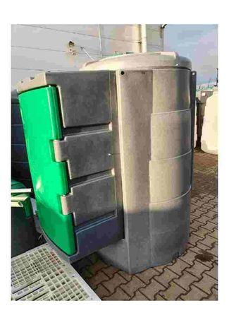 zbiornik dwupłaszczowy JFC 1300L Disel Basic, duża skrzynia