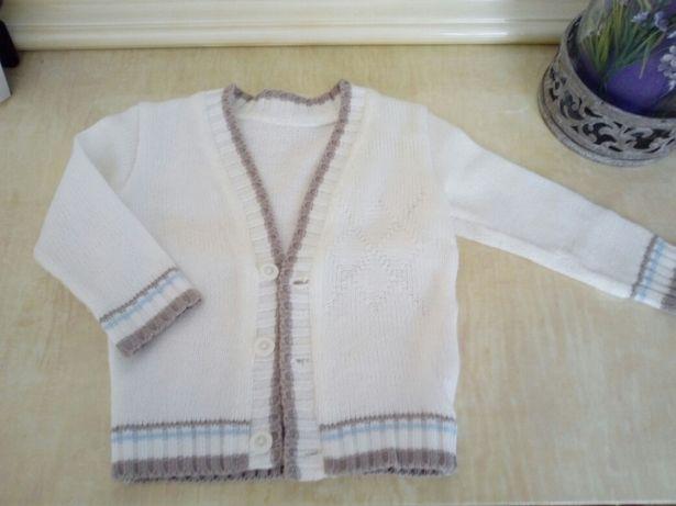 Ubranko do chrztu sweterek do chrztu 74