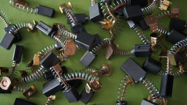 Szczotki węglowe do elektronarzędzi BOSCH MAKITA HITACHI EUROTEK