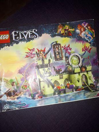 Lego elves замок