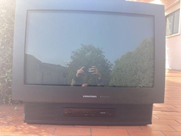 Tv televisão Grundig antiga