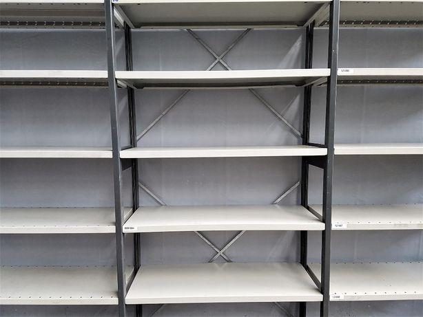 REGAŁ 40x228x303cm/18p Metalowy Magazynowy Półkowy Garażowy