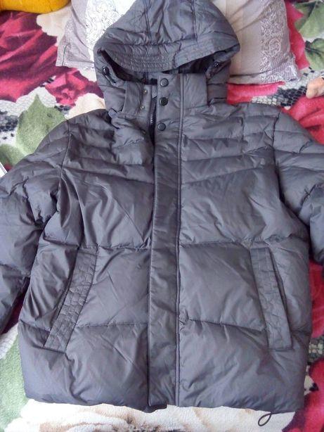 зима куртка серая в двух размерах 50-52, 48-50