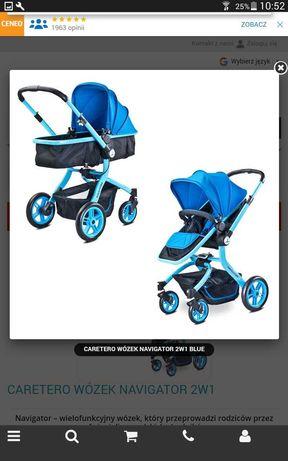 Wózek  2w1  Caretero  Navigator