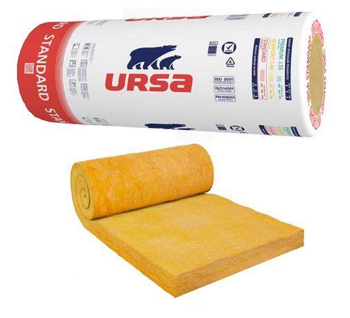 Wełna mineralna URSA - grubość 15 cm / 150 mm do dociepleń TRANSPORT