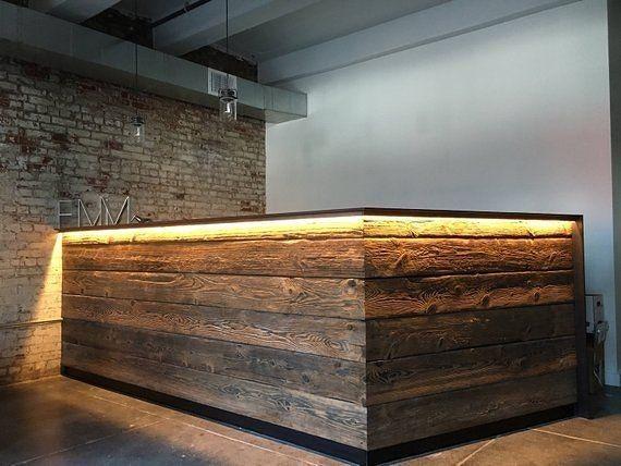 Барные стойки, стулья, ресепшн в стиле loft, стеллажи, столы для баров