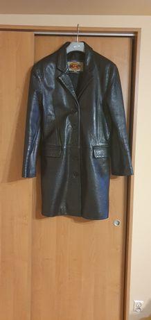 Płaszcz skórzany damski Gapelle Real Leather rozmiar 36 (S)
