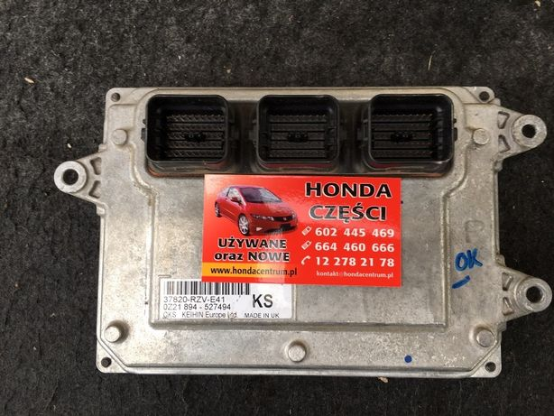 komputer silnika - Honda CRV III 2.0 automat , 37820-RZV-E41