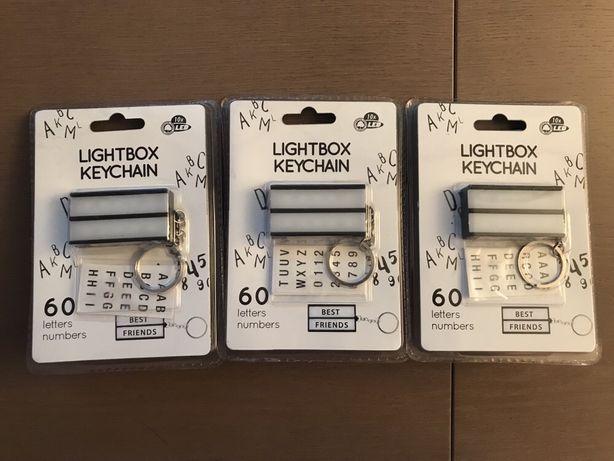 świecące breloki do kluczy- lightbox keychain