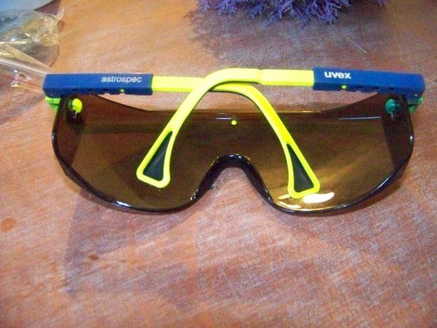 Duże okulary rowerowe uvex