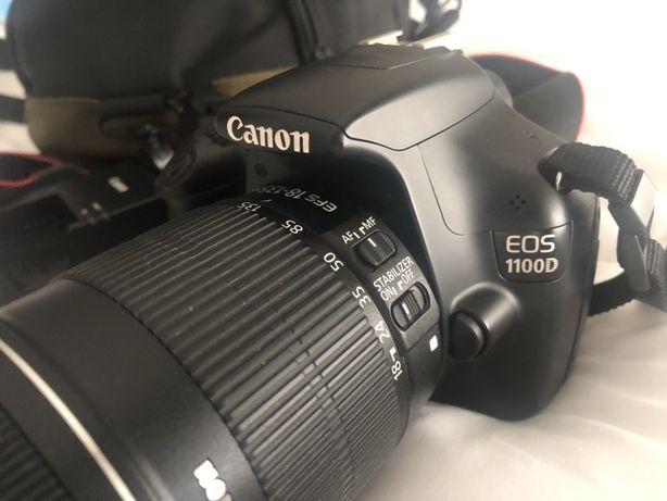 Vendo Canon 1100D como nova