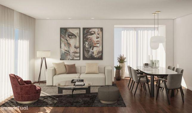 T2 - Último piso - Sul - varanda e garagem - 100m Mercadona - Mafamude