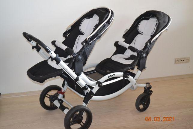 Wózek bliźniaczy lub rok po roku ABC Design Zoom