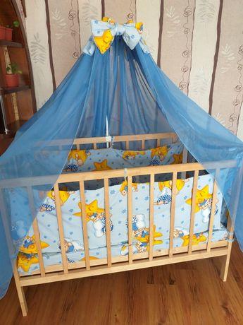 Ліжечко дерев'яне