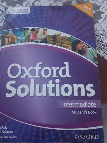 Oxford Solutions Internediate Student'Book podr.dla szkół ponadgimn.