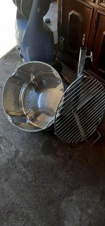 Churrasqueira grilhador desmontavel inox