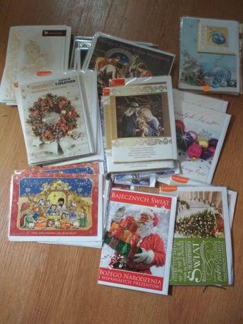 Kartki świąteczne również z opłatkiem