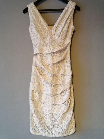 Sukienka koronkowa rozm S Orsay
