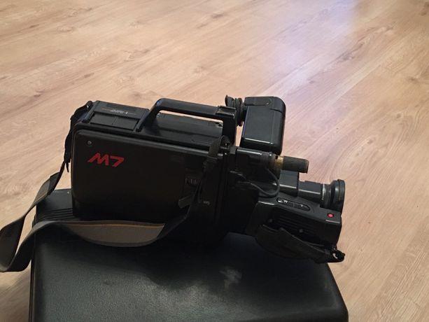 Kamera telewizyjna VHS czarno-biała, ZABYTEK! Sprawna