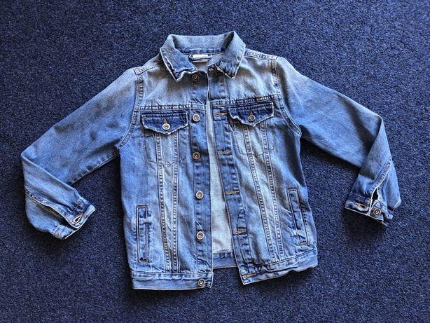 Kurtka jeansows Zara boy 128