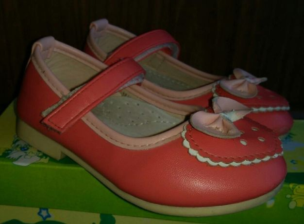 Туфли на малышку YTOP, размер 24 - 14.5 см