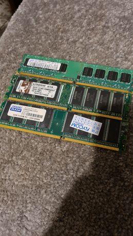 Kości pamięci RAM 3x512MB PC 3200