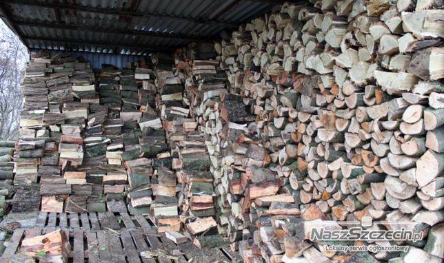 Drewno sezonowane grube ładne pocięte i połupane !