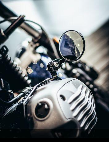 BMW motorrad r Nine t custom uchwyt lusterka r9t scrambler cafe racer